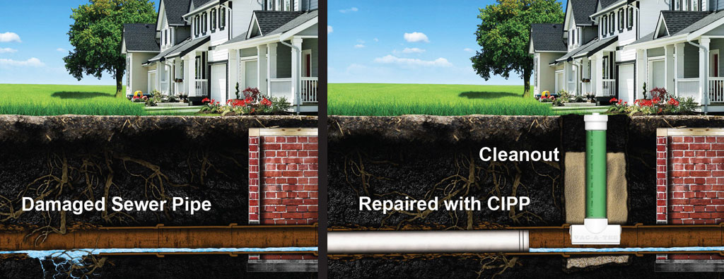 repair trenchless pipe lining near me