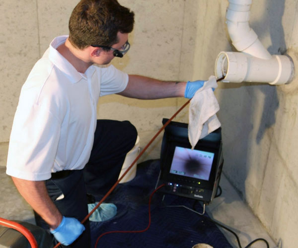 drainage camera inspection