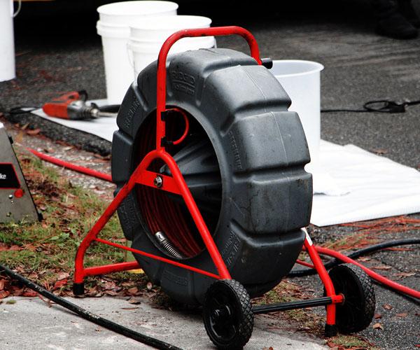 plumbing sewer line camera