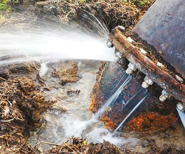 cost of main water line replacement options