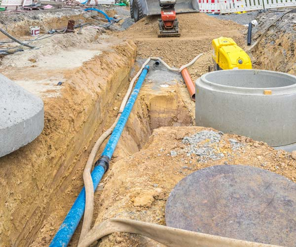 sewer pipe replacement near me